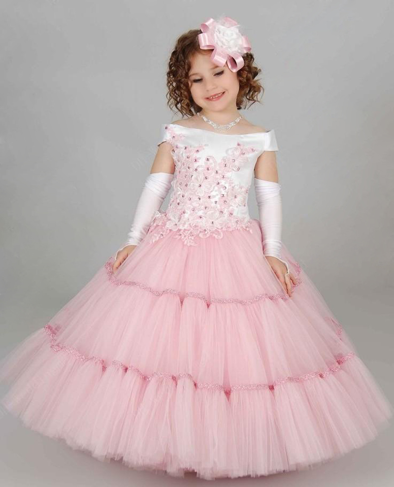 Beautiful Prom Dresses Children Toddler Ball Gown Formal Girl ...