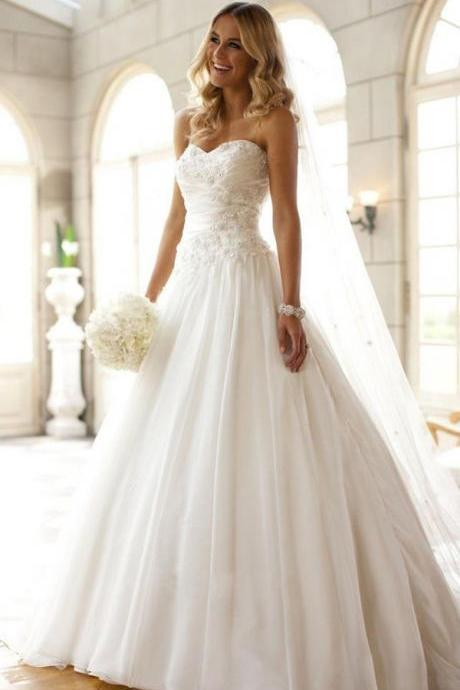 Popular Vintage Women Clothing Sweet Elegant Bridal Dresses