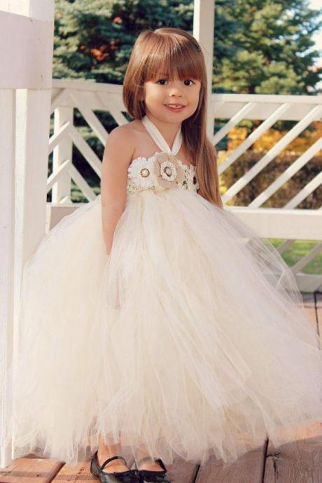 Lovely Princess Wedding Party Flower Girls' Dresses