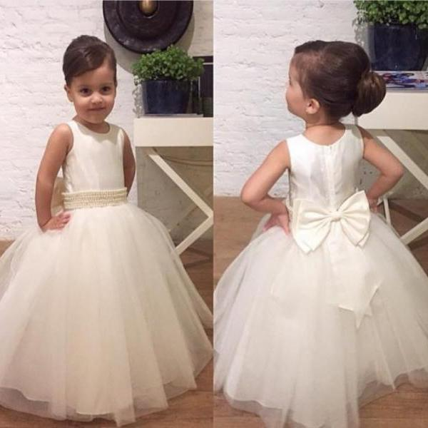 ivory flower girl dresses for toddlers - Dress Yp